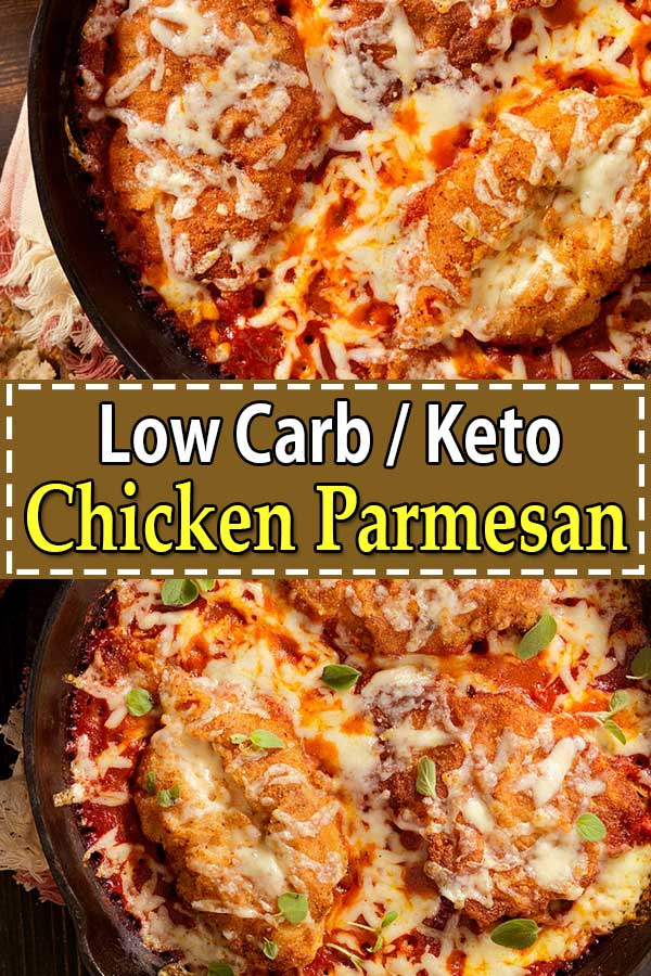 Low Carb Keto Chicken Parmesan