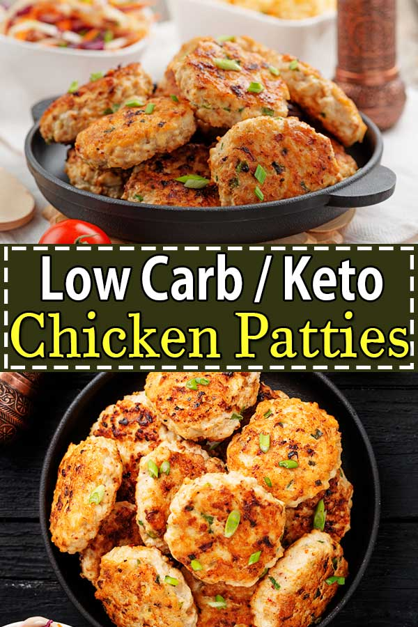 Low Carb Keto Chicken Patties