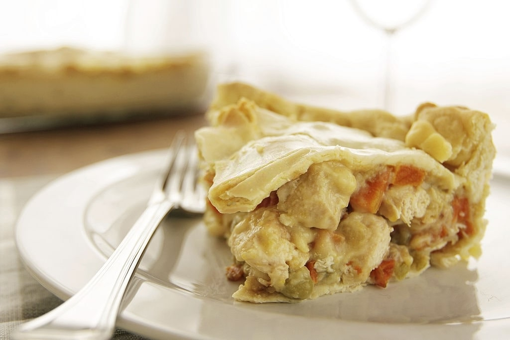 keto chicken pot pie crust