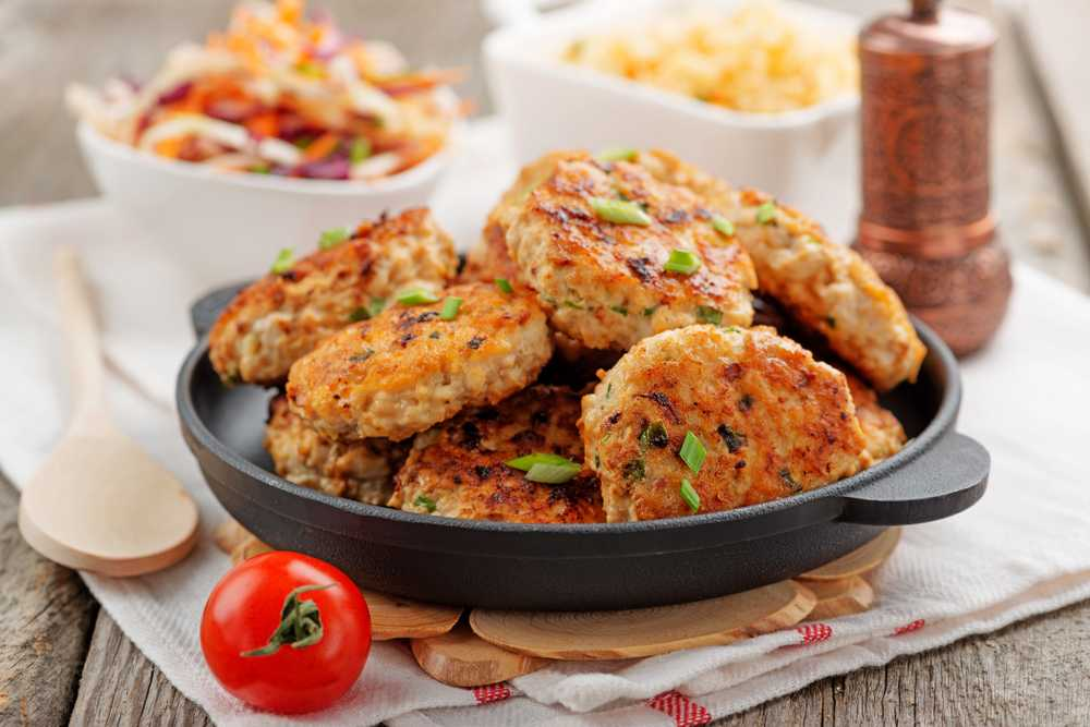 low carb chicken patties