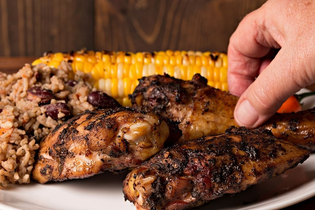 low carb jerk chicken