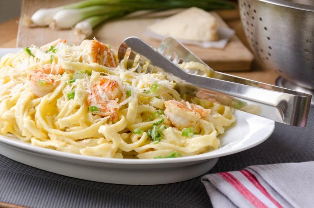 chicken and shrimp alfredo pasta recipe