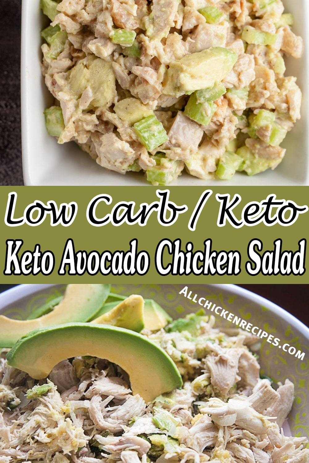 keto avocado and chicken salad