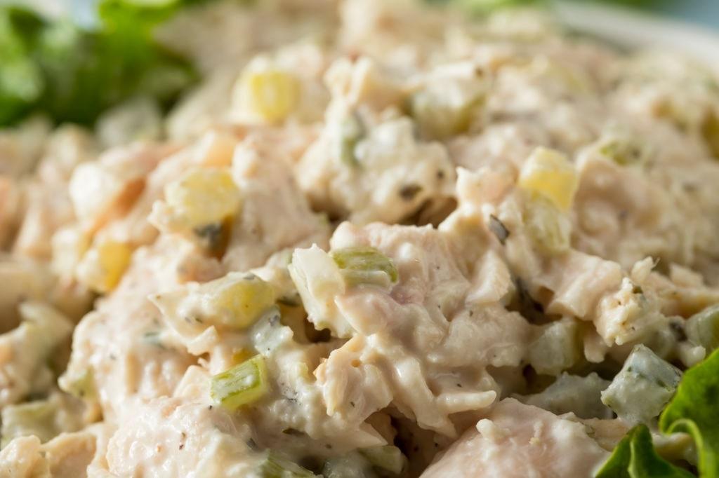 keto friendly chicken salad