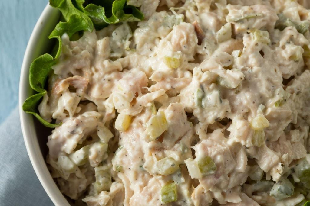 keto loaded chicken salad