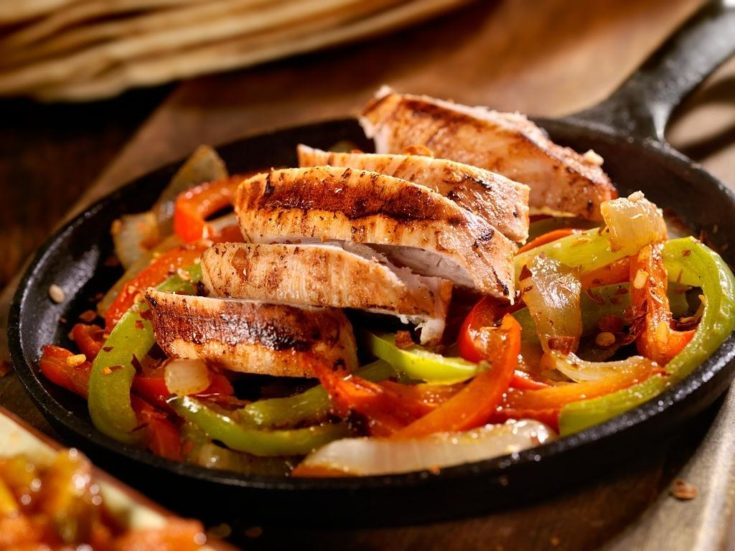 Chicken Fajitas With Homemade Seasoning