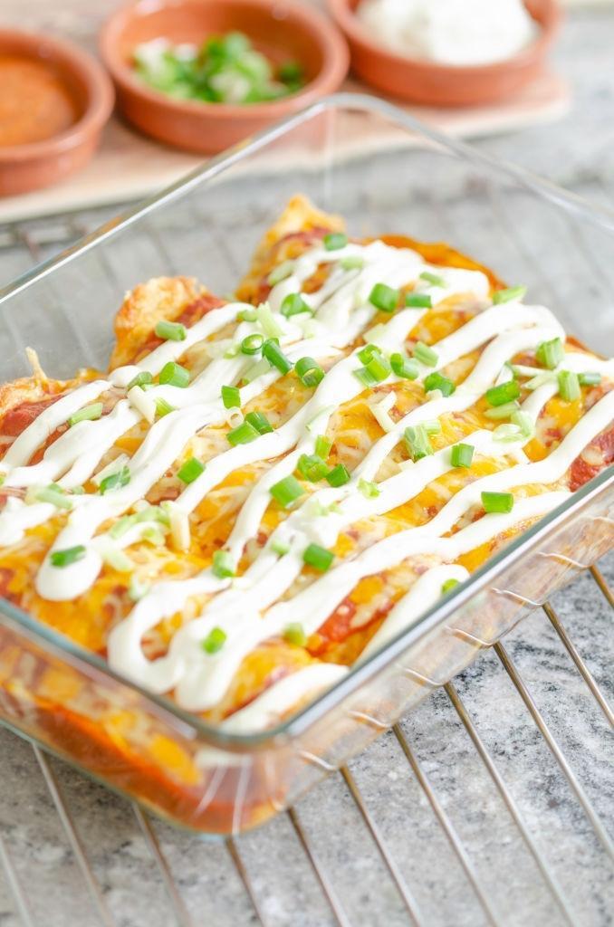 keto mexican chicken breast casserole