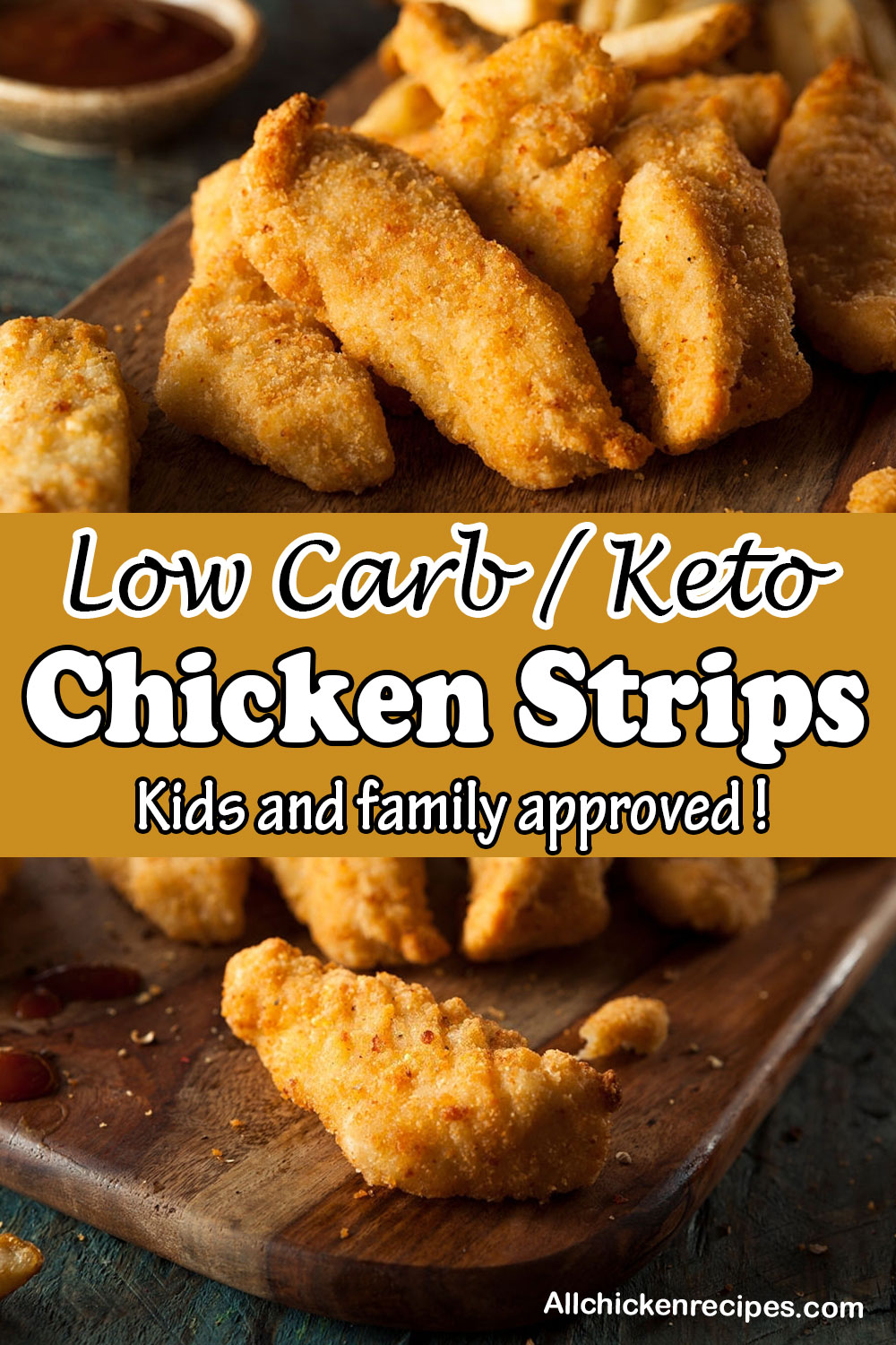 Low Carb Keto Chicken Strips