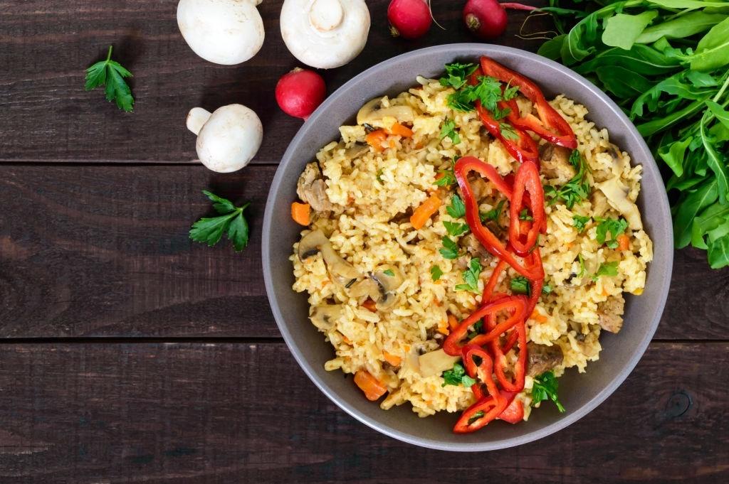 keto chinese chicken fried rice