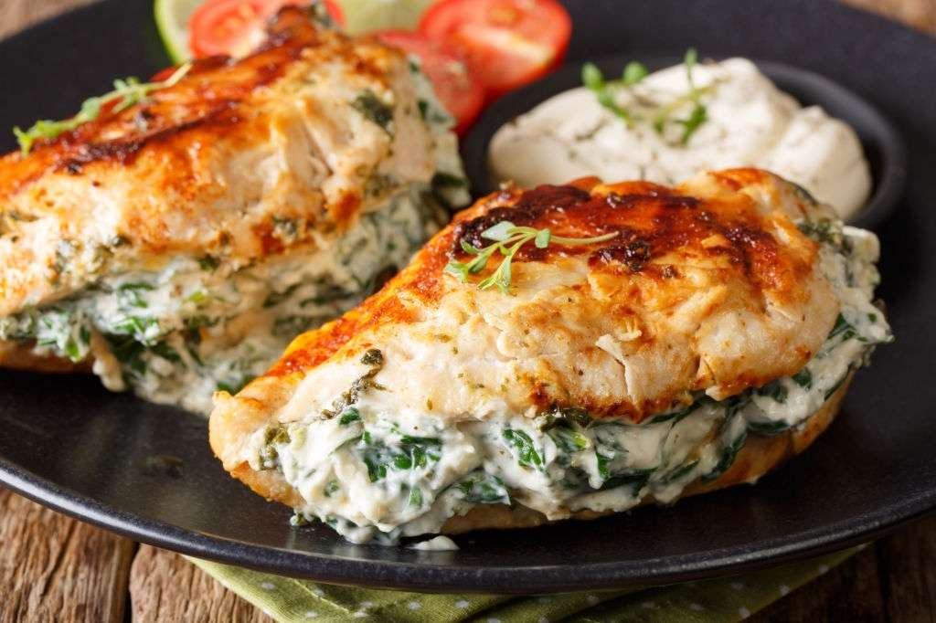 keto stuffed chicken
