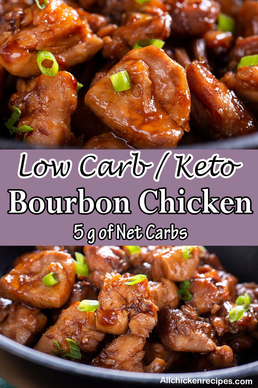 Low Carb Keto Bourbon Chicken