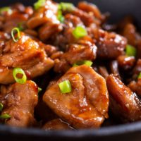 keto bourbon chicken