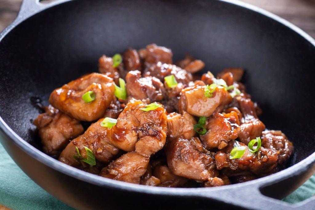 keto chinese bourbon chicken