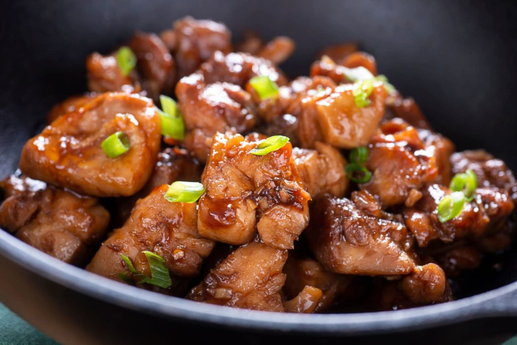 low carb bourbon chicken