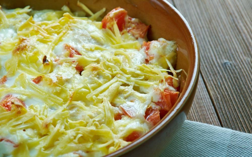 keto king ranch chicken casserole